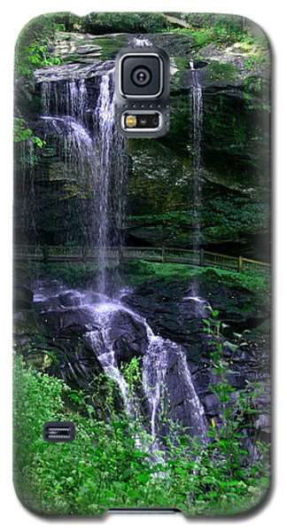 Galaxy S5 Case featuring the photograph Dry Falls by Cathy Harper