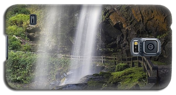 Galaxy S5 Case featuring the photograph Dry Falls North Carolina by Charles Beeler