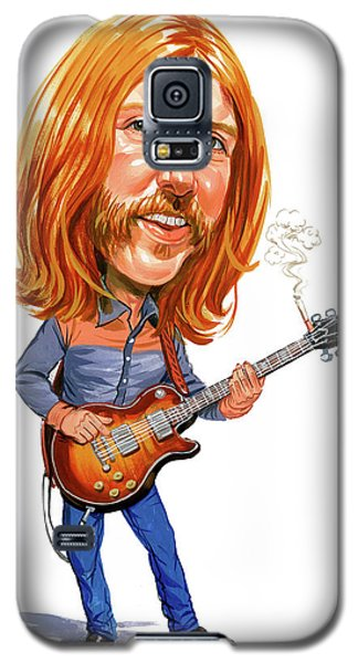 Music Galaxy S5 Case - Duane Allman by Art