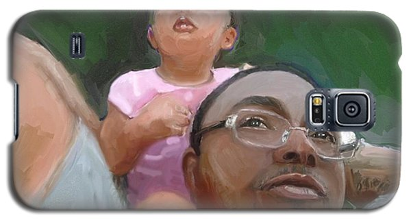 Galaxy S5 Case featuring the painting Duane by Vannetta Ferguson