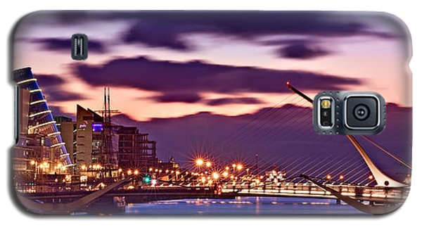 Dublin Docklands At Dawn / Dublin Galaxy S5 Case