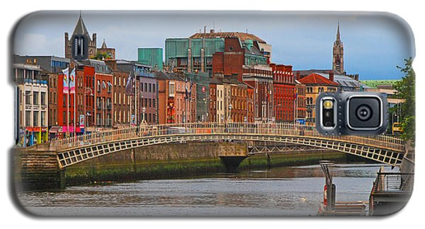 Dublin On The River Liffey Galaxy S5 Case by Mary Carol Story