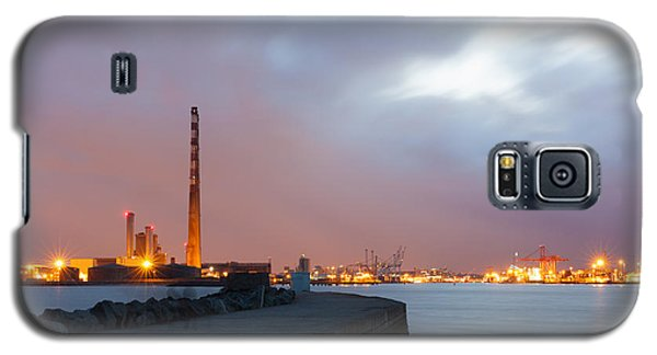 Dublin Port At Night Galaxy S5 Case by Semmick Photo