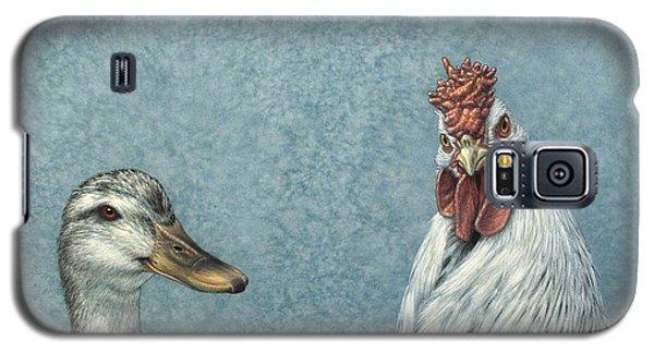Duck Galaxy S5 Case - Duck Chicken by James W Johnson