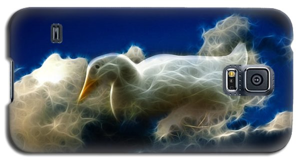 Duck In The Clouds - F Galaxy S5 Case