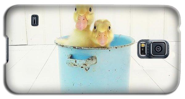Duck Soup Galaxy S5 Case by Amy Tyler