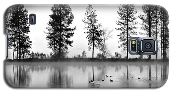 Galaxy S5 Case featuring the photograph Duck Weather by Julia Hassett