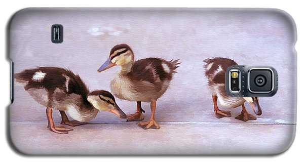 Ducks In A Row Galaxy S5 Case by Clare VanderVeen
