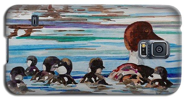 Ducks In A Row Galaxy S5 Case