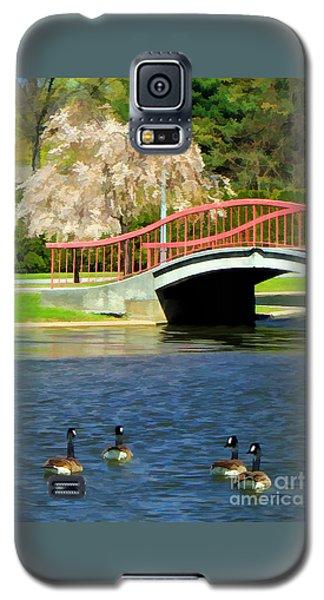 Springtime On The Lake Galaxy S5 Case