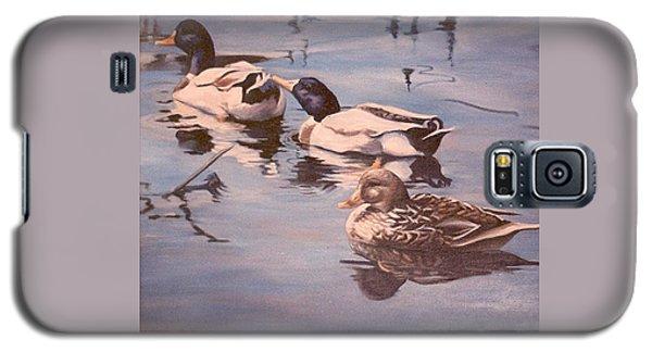 Ducks On The Cachuma Galaxy S5 Case