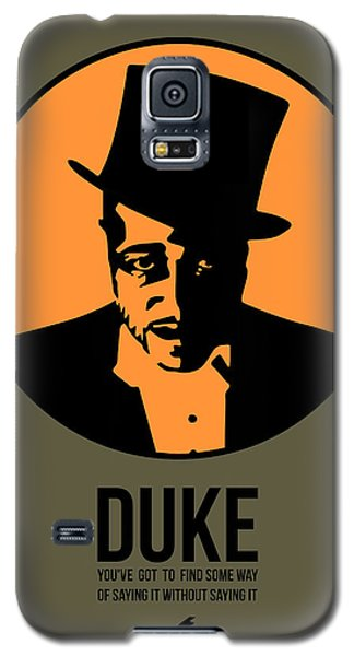 Duke Galaxy S5 Case - Dude Poster 3 by Naxart Studio