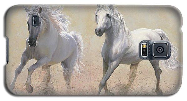 White Horse Galaxy S5 Case - Due Cavalli by Guido Borelli