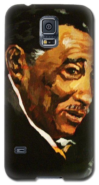 Galaxy S5 Case featuring the painting Duke Ellington by Al Brown