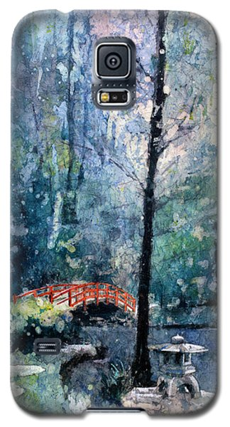 Duke Gardens Watercolor Batik Galaxy S5 Case