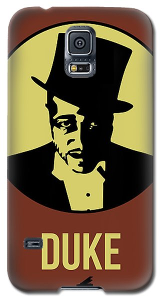 Duke Galaxy S5 Case - Duke Poster 1 by Naxart Studio
