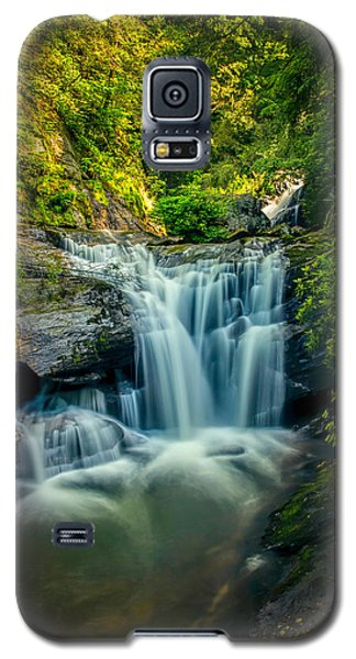 Dukes Creek Falls Galaxy S5 Case by John Haldane