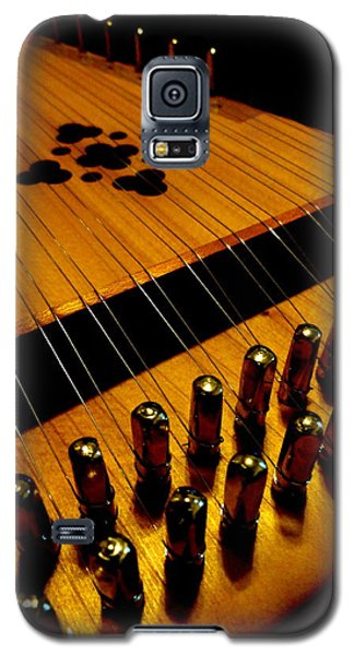 Galaxy S5 Case featuring the photograph Dulcimer by Mary Beth Landis