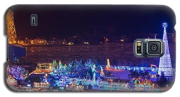 Duluth Christmas Lights Galaxy S5 Case by Paul Freidlund