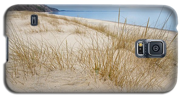 Dune Grass On Lake Michigan Galaxy S5 Case by Mary Lee Dereske