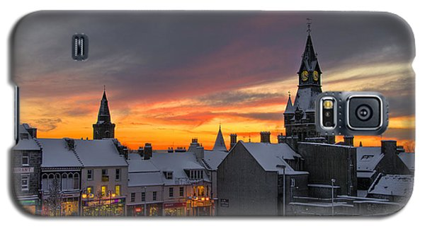 Dunfermline Winter Sunset Galaxy S5 Case