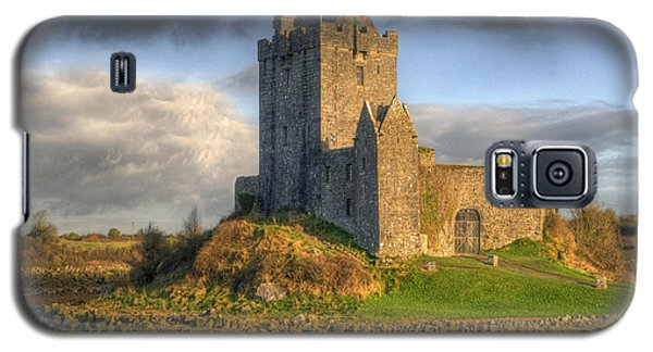 Dunguaire Castle With Dramatic Sky Kinvara Galway Ireland Galaxy S5 Case