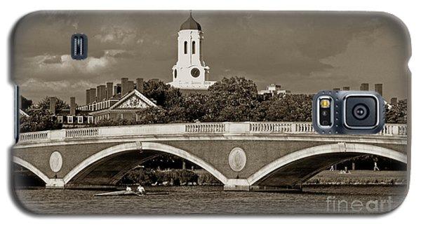 Weeks Bridge Charles River Bw Galaxy S5 Case