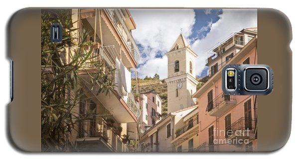 Duomo Bell Tower Of Manarola Galaxy S5 Case