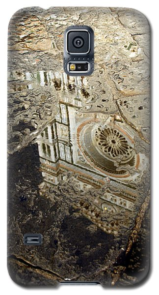 Duomo Reflected In Rain  I I Galaxy S5 Case