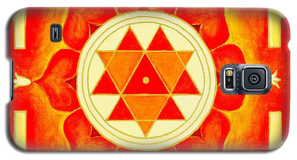 Durga Yantra Is A Powerful Yantra For Transformation Of Consciousness Galaxy S5 Case