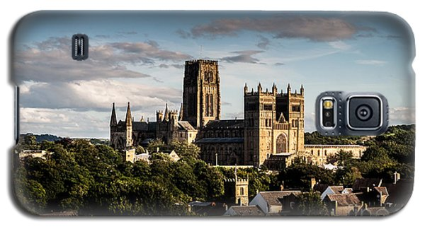 Galaxy S5 Case featuring the photograph Durham Cathedral by Matt Malloy