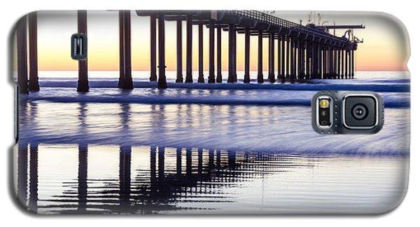 Dusk At Scripps Pier Galaxy S5 Case