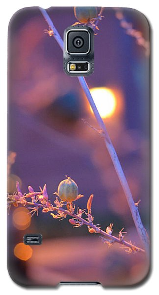 Dusk Flowers Galaxy S5 Case