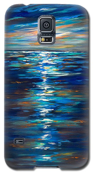 Dusk On The Ocean Galaxy S5 Case