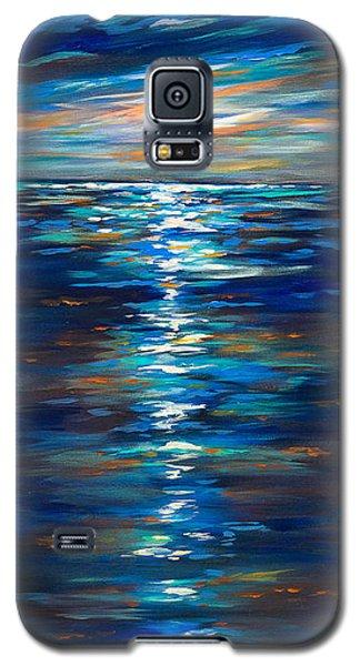 Dusk On The Ocean Galaxy S5 Case by Linda Olsen