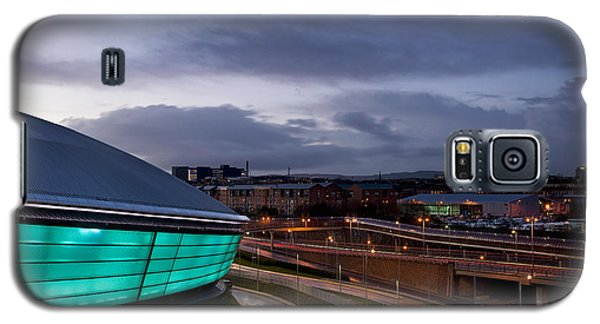 Dusk Over Glasgow Galaxy S5 Case by Stephen Taylor