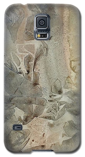 Galaxy S5 Case featuring the painting Dust Drift by Rebecca Davis