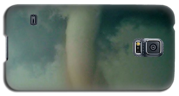 Galaxy S5 Case featuring the photograph Dust Eating Tornado by Ed Sweeney