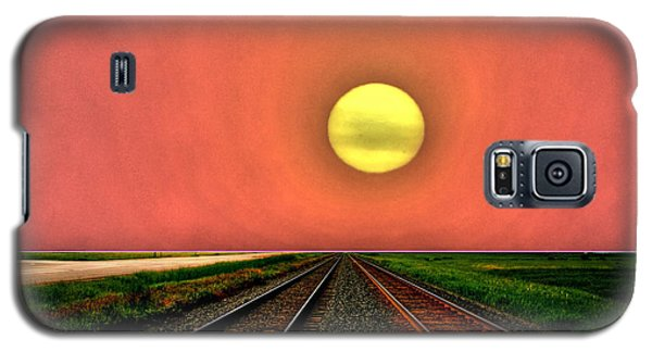Dustbowl Sunset Galaxy S5 Case