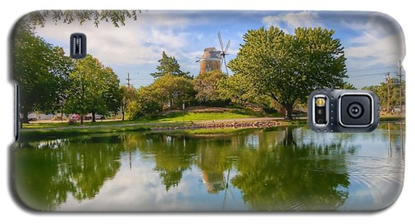 Galaxy S5 Case featuring the photograph Dutch Mill  by Liane Wright