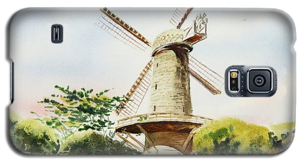 Dutch Windmill In San Francisco  Galaxy S5 Case