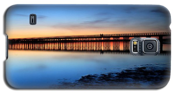 Duxbury Beach Powder Point Bridge Twilight Galaxy S5 Case