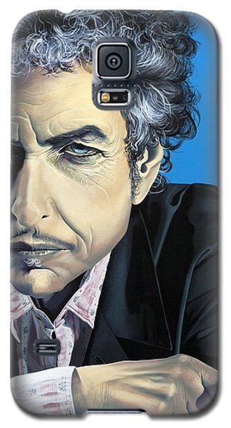Bob Dylan Galaxy S5 Case - Dylan by Kelly Jade King