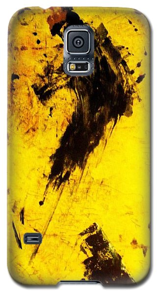 Galaxy S5 Case featuring the painting Dynamo  by Lesley Fletcher