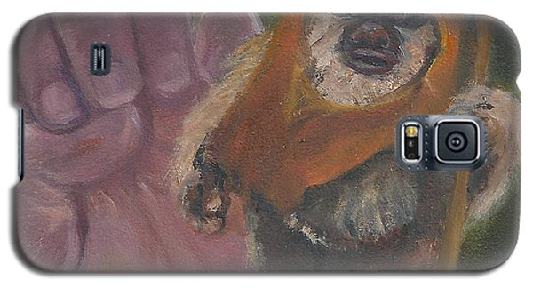 Galaxy S5 Case featuring the painting E Is For Ewok by Jessmyne Stephenson