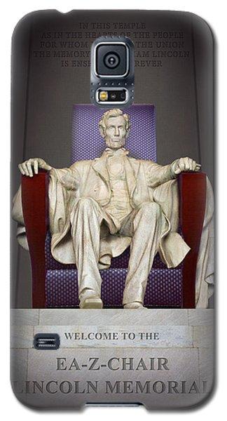 Ea-z-chair Lincoln Memorial 2 Galaxy S5 Case by Mike McGlothlen