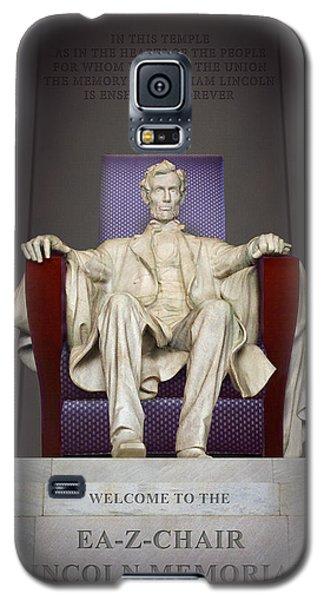 Ea-z-chair Lincoln Memorial 2 Galaxy S5 Case