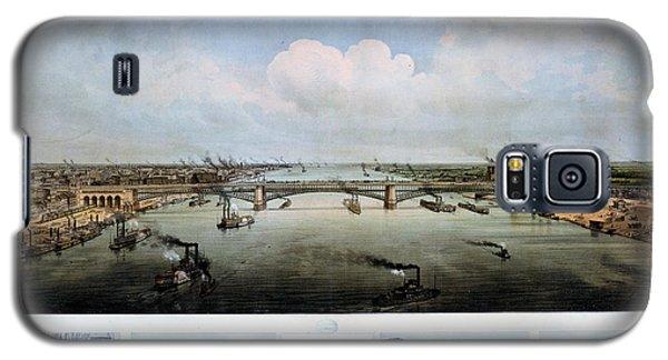 Eads Bridge Drawings Galaxy S5 Case