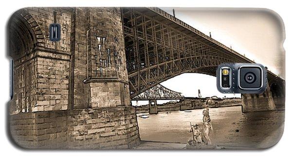 Eads Bridge Sepia Galaxy S5 Case