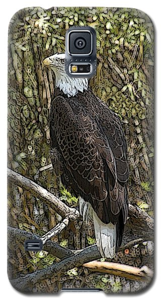 Galaxy S5 Case featuring the photograph Eagle by Donald Williams